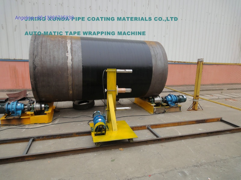 Auto-matic tape wrapping machine