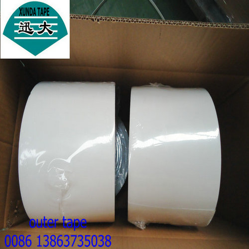 Polyethylene outer tape