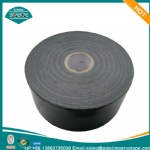 25 mils black anti-corrosion pipe wrapping tape